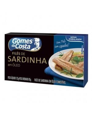 File Sardinha Gomes Costa 85G Oleo