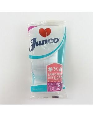 Garfo Cristal Grande Junco 50Unid