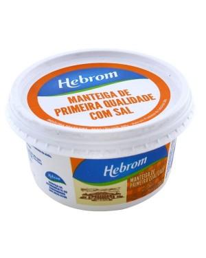Manteiga de Leite Hebrom com sal 500g
