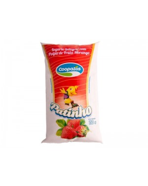 Iogurte Coopatos Patinho Morango 150G