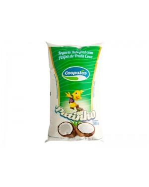 Iogurte Coopatos Patinho Coco Saco 150G
