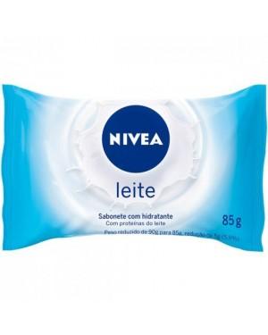 Sabonete Nivea 85g Hidratante Leite