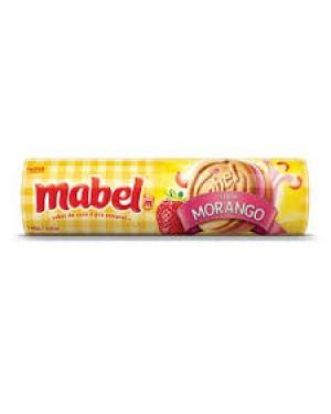 Biscoito Mabel Recheado 140G Morango