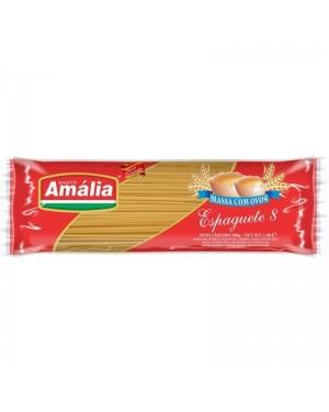 Macarrão Santa Amália 500G Com Ovos Espaguete 8