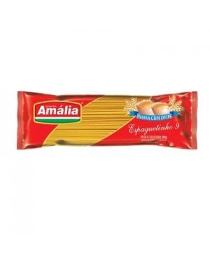 Macarrão Santa Amália 500G Com Ovos Espaguete 9