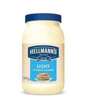 Maionese Hellmanns 500G Light