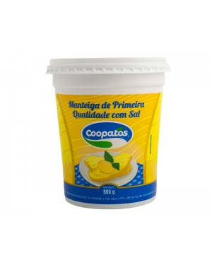 Manteiga Coopatos 500G