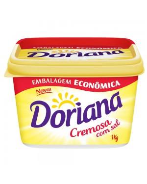 Margarina Doriana 1Kg Com Sal