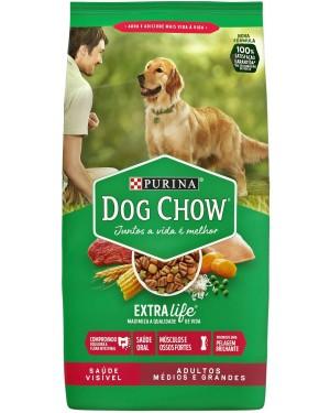 Ração Dog Chow 10,1kg Adulto Raças Medias e Grandes