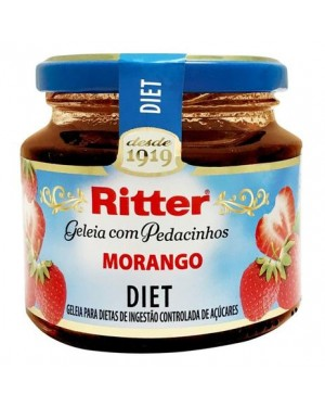 Geleia Ritter Diet 260G Morango