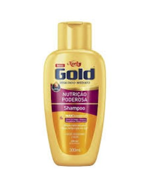 Shampoo Niely Gold 300Ml Nutrição Poderosa
