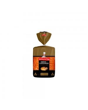 Pão Integral Grãos de Castanha Delicias do Trigo 450G