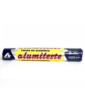 Papel Alumínio Alumileste 45CMX7.5M