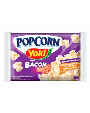Pipoca Microondas Yoki 100G Bacon