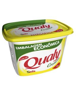 Margarina Qualy Tradicional Com Sal 1Kg