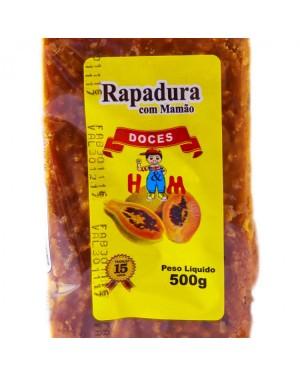 Rapadura Mineira H&M 500G Mamao