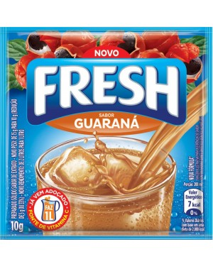 Refresco Fresh Pó 10G Guaraná