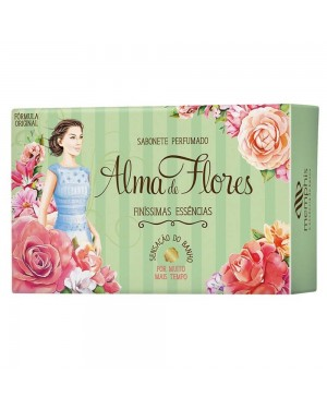 Sabonete Alma Flores 130g Finíssima essência Alma