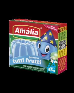 Gelatina Santa Amália 35g Tutti Frutti