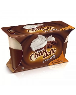 Sobremesa Chandelle Chantilly Chocolate 200g