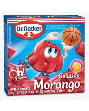 Gelatina Oetker 20g Morango