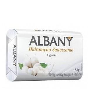 Sabonete Albany Hidratação Suavizante Algodão 85g