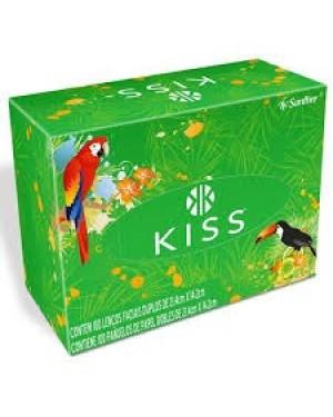Lenços Papel Kiss 100und