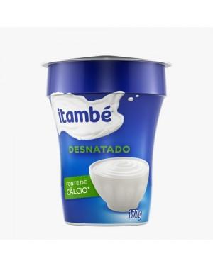 Iogurte Itambé Desnatado Natural 170g