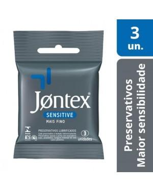Preservativo Jontex Sensitive 3und