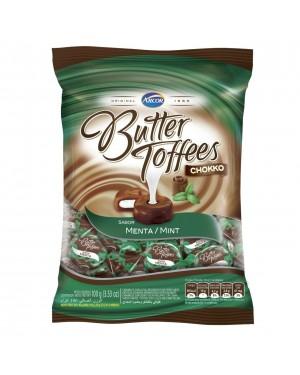 Bala Arcor Butter Toffe 100g Chocolate com Menta