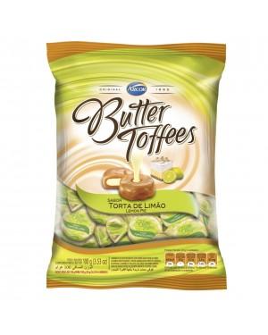 Bala Arcor Butter Toffe 100g Limao