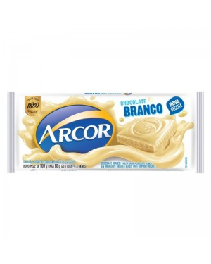 Chocolate Arcor 80g Branco