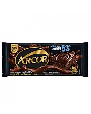 Chocolate Arcor 80G 53% Amargo