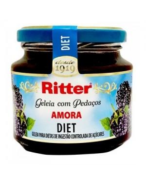 Geleia Ritter Diet 260G Amora