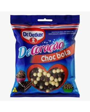 Confeito Oeteker Chocolate Bola 80G