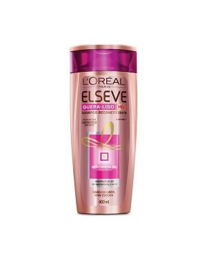 Shampoo Elseve 400Ml Quera liso Reconstrução