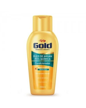 Condicionador Niely Gold 200Ml Oleo Argan Pos Quimica
