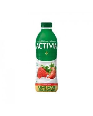 Iogurte Danone Activia 1L Morango