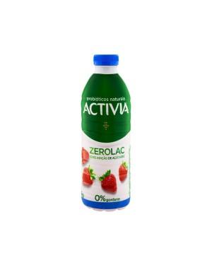 Iogurte Danone Activia 1L Morango Zero