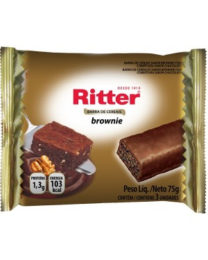 Barra Cereal Ritter 75G Broweine