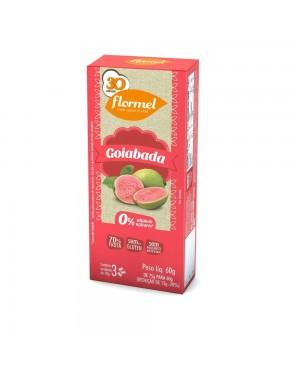 Doce Flormel 60g zero Goiaba