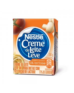 Creme Leite Nestle 200G zero lactose TP