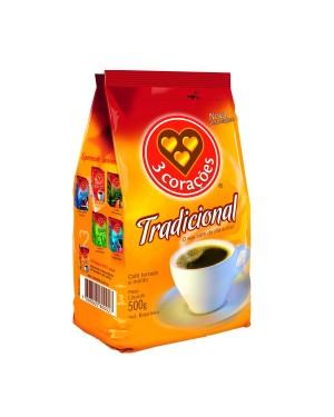 Café 3 Corações 500g Tradicional