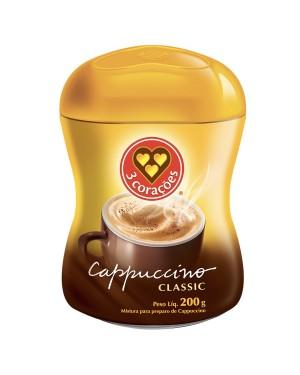 Café 3 Corações Cappuccino Classic 200g