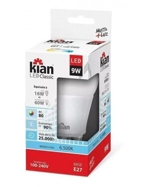 Lampada Kian Led Normal 9W Bivolt