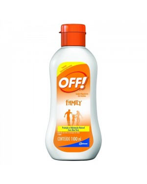 Repelente Off 100Ml Family Loção
