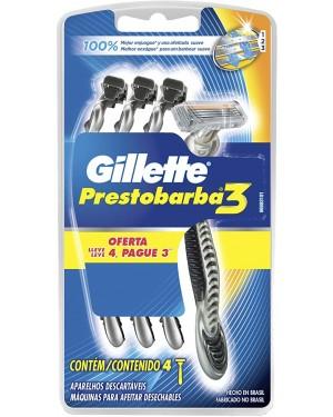 Aparelho Barba Gillette Prestobarba Lv4 Pag3