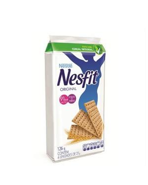 Biscoito Nesfit Nestle Bolso 126g Integral