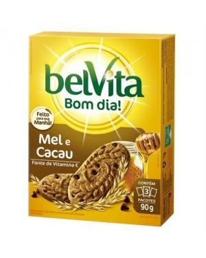 Biscoito Belvita 75g Mel e Cacau