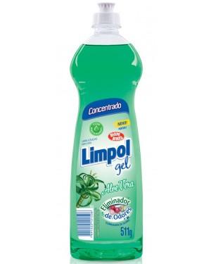 Detergente Limpol Gel 511G Aloe Vera